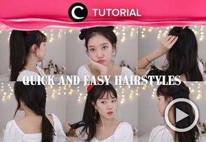 Gaya rambut a la Korea ini sangat cocok untuk mempermanis tampilan sehari-harimu lho, Clozetters. Yuk intip tutorialnya di: https://bit.ly/3o587Mu. Video ini di-share kembali oleh Clozetter @juliahadi. Lihat juga tutorial lainnya di Tutorial Section.