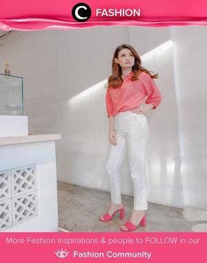 Casually chic Thursday inspired by Clozette Ambassador @abnergailorraine.Simak Fashion Update ala clozetters lainnya hari ini di Fashion Community. Yuk, share outfit favorit kamu bersama Clozette.