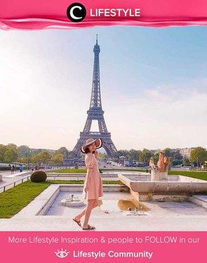 What will be better than spending summer in Paris? Simak Lifestyle Updates ala clozetters lainnya hari ini di Lifestyle Community. Image shared by Clozetter @angeliasamodro. Yuk, share juga momen favoritmu.