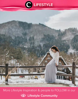Clozette Ambassador @natahsu struck a pose in front of the iconic winter scenery in Shirakawa-go. Simak Lifestyle Update ala clozetters lainnya hari ini di Lifestyle Community. Yuk, share momen favoritmu bersama Clozette.