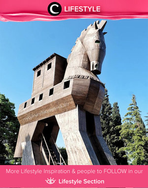 Horse of Troy. The infamous legend between Troia (Turkey) and Greece. The battle did happen in 10 years before the Troia Empire was all burnt. Simak Lifestyle Updates ala clozetters lainnya hari ini di Lifestyle Section. Image shared by Clozetter: @jessicasisy. Yuk, share momen favoritmu bersama Clozette.
