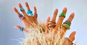 Plastic Rings Are All Over Instagram, Shop Our Favorite Picks Now