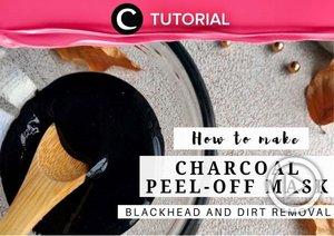 DIY charcoal peel-off mask: https://bit.ly/3jVkDhb. Cocok untuk kamu yang ingin mendetoks wajah sekaligus mengatasi jerawat! Video ini di-share kembali oleh Clozetter @ranialda. Lihat juga tutorial lainnya di Tutorial Section.