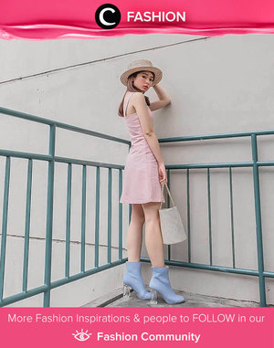 When baby pink meets baby blue. We love this total look by Clozette Ambassador @silviamuryadi! Simak Fashion Update ala clozetters lainnya hari ini di Fashion Community. Yuk, share outfit favorit kamu bersama Clozette.