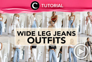 How to style wide leg jeans: https://bit.ly/3glIO6S. Video ini di-share kembali oleh Clozetter @zahirazahra. Lihat juga tutorial lainnya di Tutorial Section.