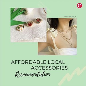 """""""Accessories are like vitamins to fashion."""" - Anna Delio Russo . Siapa yang setuju dengan quote di atas? Supaya kantong tetap aman, Clozette punya rekomendasi 5 aksesori lokal dengan harga yang terjangkau! . Aksesori apa yang paling sering kamu pakai, Clozetters? . 📷 @summer.someday @mereeshop @shopkagumi @ark.co_id @kurva_id  #ClozetteID #ClozetteIDVideo #accessories"""