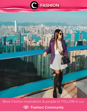 Throwback to a panoramic view across Hong Kong. Ps: sunnies always make your OOTD look even cooler! Image shared by Clozetter @melissamai. Simak Fashion Update ala clozetters lainnya hari ini di Fashion Community. Yuk, share outfit favorit kamu bersama Clozette.