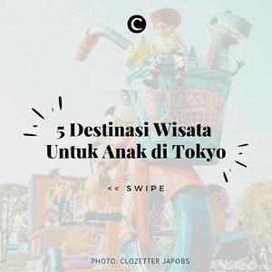 Bukan hanya Disneyland, Tokyo juga mempunyai destinasi wisata lain yang pastinya menyenangkan untuk si kecil! Mulai dari berkenalan dengan fauna laut di Tokyo Sea Life Park, hingga mencoba simulasi di NHK Studio Park. Swipe, swipe. . #ClozetteID #ClozetteIDCoolJapan #ClozettexCoolJapan