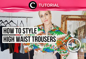 How to style your high waist jeans into a super stylish outfit: https://bit.ly/2X7Yv7y. Video ini di-share kembali oleh Clozetter @dintjess. Lihat juga tutorial lainnya yang ada di Tutorial Section.