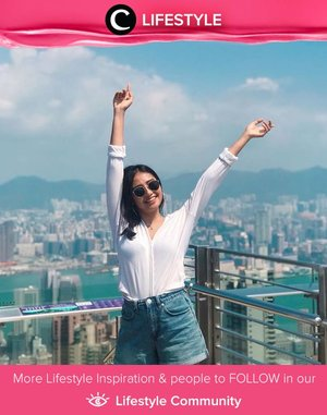 Clozette Ambassador @witaervianda said hello from Hongkong! Simak Lifestyle Updates ala clozetters lainnya hari ini di Lifestyle Community. Yuk, share juga momen favoritmu.
