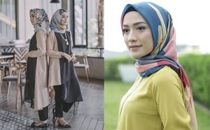 13 Ragam Tampilan Hijab Voal yang Lembut dan Anti Gerah. Simpel Tapi Cantik!