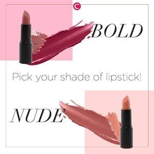 Callin' all lip product lovers! Apapun jenis lip product-mu, biasanya yang diperhatikan paling utama adalah warna yang kamu pilih, ya kaaan?! Jadi, kamu #TeamMude yang bisa bikin tamilah kamu terlihat natural, atau #TimBold yang bisa leveling-up your makeup look? Tulis pilihanmu di kolom komentar ya, Clozetters! #ClozetteID
