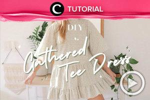 Dress bergaya vintage sedang jadi tren saat ini. Psstt.. Kamu bisa membuatnya sendiri, lho. Intip video yang di-share kembali oleh Clozetter @aquagurl ini, yuk: http://bit.ly/39Fp61c. Lihat juga tutorial lainnya di Tutorial Section.