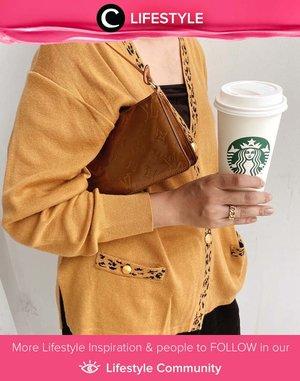 It's coffee o'clock! Image shared by Clozette Ambassador @cellinikamil. Simak Lifestyle Update ala clozetters lainnya hari ini di Lifestyle Community. Yuk, share momen favoritmu bersama Clozette.