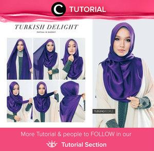 Berpenampilan seperti wanita Turki bisa kamu wujudkan dengan gaya hijab seperti pada tutorial berikut  http://bit.ly/29IdoGZ Photo shared by Clozetter: aquagurl. Ingin tahu tutorial Tutorials Hijab Update ala clozetters lainnya hari ini, di sini http://bit.ly/Tutorialhijab.