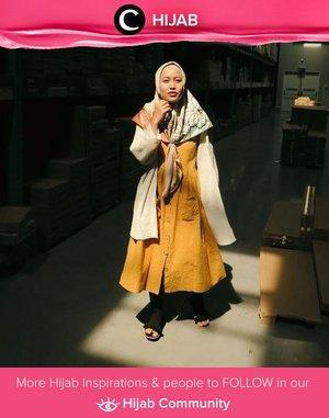 In the mood for mustard this Sunday. Simak inspirasi gaya Hijab dari para Clozetters hari ini di Hijab Community. Image shared by Star Clozetter : @Dewindriyani. Yuk, share juga gaya hijab andalan kamu.