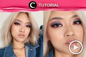 Cotton candy denim eye makeup tutorial! Check this out: http://bit.ly/2mjroxI. Video ini di-share kembali oleh Clozetter @ranialda. Lihat juga tutorial lainnya di Tutorial Section.
