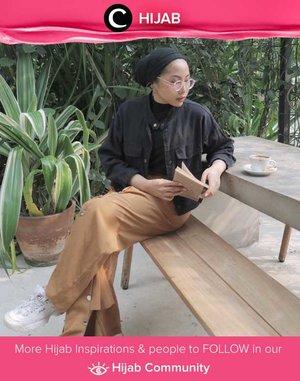 Smart casual kinda day. Simak inspirasi gaya Hijab dari para Clozetters hari ini di Hijab Community. Image shared by Clozetter Ambassador @ladyulia. Yuk, share juga gaya hijab andalan kamu.
