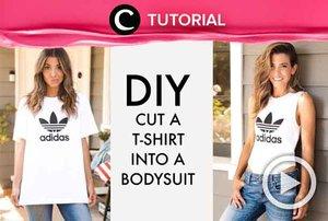 Bosan dengan model kaos yang itu-itu saja? Coba rombak dan jadikan bodysuit seperti di video yang di-share kembali oleh Clozetter @zahirazahra iniL http://bit.ly/2KqA13e. Lihat juga tutorial lainnya di Tutorial Section.