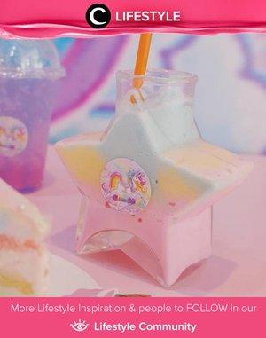 Super cute drink found at Unicorn Cafe Bangkok! Image shared by Clozetter @mgirl83. Simak Lifestyle Updates ala clozetters lainnya hari ini di Lifestyle Community. Yuk, share juga momen favoritmu.
