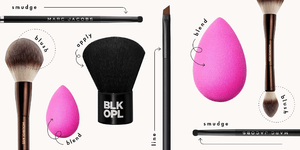 The Only Makeup Brushes You *Really* Need and Exactly How to Use Them
