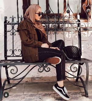 Velvet outfits in warm hijab styles | | Just Trendy Girls