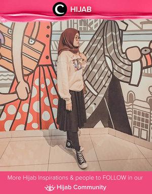 Casual Friday Hijab OOTD a la Clozetter @larasatinesa. Simak inspirasi gaya Hijab dari para Clozetters hari ini di Hijab Community. Yuk, share juga gaya hijab andalan kamu.