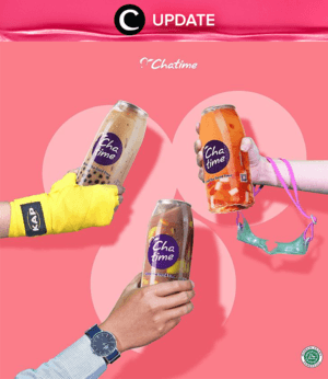 Cha-cha your way to the holiday season with the signature milk teas from Chatime, and don't miss the special promo for the Popcan bottled drinks! Trust us, you're going to LOVE this special deal. Lihat info lengkapnya pada bagian Premium Section aplikasi Clozette. Bagi yang belum memiliki Clozette App, kamu bisa download di sini https://go.onelink.me/app/clozetteupdates. Jangan lewatkan info seputar acara dan promo dari brand/store lainnya di Updates section.