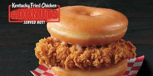 KFC Is Now Selling a Donut and Fried Chicken Sandwich If You're up to the Challenge