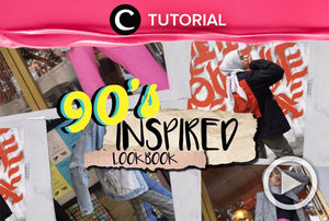 Ingin berdandan ala 90s? Cek inspirasinya di: https://bit.ly/2X426Ej. Video ini di-share kembali oleh Clozetter @shafirasyahnaz. Lihat juga tutorial lainnya yang ada di Tutorial Section.