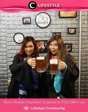 Akan berjalan-jalan ke Penang? Jangan lupa kunjungi Potterheads Cafe Penang untuk memuaskan dahaga dengan Butter Beer! Simak Lifestyle Updates ala clozetters lainnya hari ini di Lifestyle Community. Image shared by Clozetter @Mgrl83. Yuk, share juga momen favoritmu.