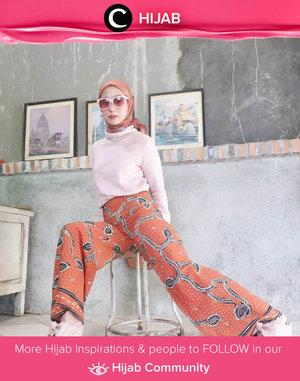 Clozetter @she_wian shows her way to wear batik: modern and sophisticated! Simak inspirasi gaya Hijab dari para Clozetters hari ini di Hijab Community. Yuk, share juga gaya hijab andalan kamu.