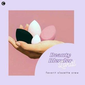 Salah satu kunci mendapatkan makeup yang flawless adalah cara pengaplikasiannya. Makeup sponge, atau yang lebih dikenal dengan sebutan beauty blender, menjadi salah satu aplikator makeup yang menjadi andalan banyak beauty enthusiast. Eits, tak perlu lagi susah mencari, kini sudah banyak brand lokal yang mengeluarkan beauty blender, lho! Penasaran apa saja? Yuk, cari tahu melalui video berikut!.📷 @madebyruna @roseallday.co @aerisbeaute @kariscosmetics @madformakeup.co#ClozetteID #ClozetteIDVideo