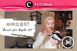 Must-have inners for hijabi: http://bit.ly/3s8aks4. Video ini di-share kembali oleh Clozetter @shafirasyahnaz. Intip juga tutorial lainnya di Tutorial Section.