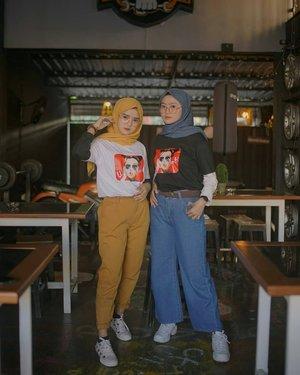 Ide Daily Outfit Hijab Kece Pakai T-Shirt