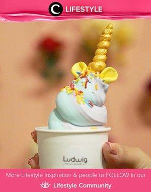 Ludwig's Unicorn Ice Cream. Yum! Simak Lifestyle Updates ala clozetters lainnya hari ini di Lifestyle Community. Image shared by Clozetter @Mgirl83. Yuk, share juga momen favoritmu.