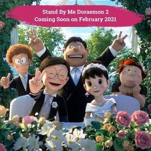 Pecinta film kartun semasa kecil, dikejutkan dengan poster Stand by Me Doraemon 2 yang menampilkan Nobita dan Shizuka dalam balutan busana pengantin. Melihat kelanjutan kisah Doraemon, kucing penjelajah dari masa depan, yang membantu seorang anak kecil bernama Nobita yang menyukai perempuan yang bernama Shizuka, benarkah mereka menikah di film ini? Akan tayang di bioskop mulai Februari 2021, lho Clozetters! Siapa yang nggak sabar nonton film ini?🙋🏻♀️📷 twitter.com#ClozetteID #ClozetteXCoolJapan #ClozetteIDCoolJapan
