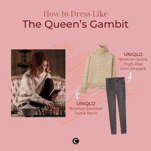 Siapa yang nonton The Queen's Gambit di Netflix? Selain terpesona dengan permainan caturnya, Clozette Crew juga jatuh cinta dengan style sang pemeran utama, Beth Harmon! Vintage style-nya yang classic yet timeless mampu membuat Clozette Crew nunggu-nunggu banget adegan dia muncul. Selain Beth Harmon, style siapa lagi nih yang kamu suka di serial The Queen's Gambit?  @netflix #ClozetteID #ClozetteIDCoolJapan #ClozetteXCoolJapan