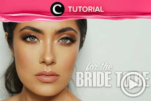 Ingin belajar bridal makeup? Intip caranya di sini, yuk: http://bit.ly/32rzHrO. Video ini di-share kembali oleh @ranialda. Intip tutorial lainnya di Tutorial Section.