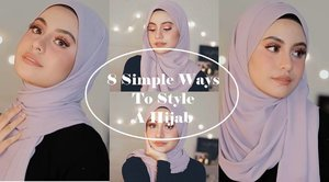8 Simple Ways To Style a Hijab - Hijab Fashion Inspiration