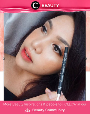 Great pigmentation, easy to sharpen, and doesn't break easily. Applause to the newest brow product of Lakme, Lakme x Anggie Rassly Precision Marble Eyebrow. Simak Beauty Update ala clozetters lainnya hari ini di Beauty Community. Image shared by Clozette Ambassador @makeupwithselly. Yuk, share juga beauty product favorit kamu bersama Clozette.