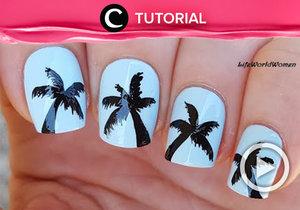 Menggambar pohon palm di kuku? Yuk, cari tahu caranya, di sini http://bit.ly/2wlbAMn. Video ini di-share kembali oleh Clozetter: zahirazahra. Cek Tutorial Updates lainnya pada Tutorial Section.