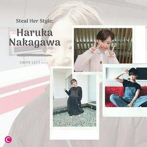 Penggemar JKT48 pasti sudah kenal dengan mantan anggotanya yang satu ini, Haruka Nakagawa. Gadis menggemaskan asal Jepang ini dikenal dengan stylenya yang kawaii. Yuk swipe left untuk liat beberapa ootd lucu dari Haruka yang siapa tahu bisa jadi inspirasimu!✨  📷@haruuuu_chan #ClozetteID #ClozetteXCoolJapan #ClozetteIDCoolJapan