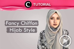 Another way to wear chiffon hijab! Check it out: http://bit.ly/2IKI6hV. Video ini di-share kembali oleh Clozetter @zahirazahra. Lihat juga tutorial updates lainnya di Tutorial Section.