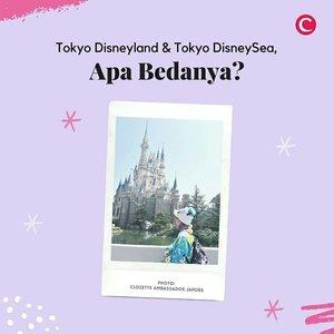 Tokyo Disneyland, atau Tokyo DisneySea? Pertanyaan ini mungkin sering terlintas saat akan pertama kali berlibur ke Jepang. Walaupun sama-sama bertemakan Disney, namun keduanya mempunyai perbedaan yang cukup signifikan, lho. Salah poin yang patut kamu pertimbangkan sebelum memilih adalah preferensi kamu dengan tema Disney klasik, atau Disney dengan sentuhan yang lebih modern. Swipe fotonya untuk lihat perbedaan lainnya, ya..#ClozetteID #ClozetteXCoolJapan #ClozetteIDCoolJapan #Disneyland #TokyoDisneyland #DisneySea #TokyoDisneySea #DisneyJapan #Disney