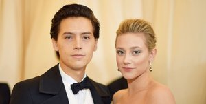 Cole Sprouse and Lili Reinhart Made Their Red Carpet Debut at the Met Gala