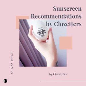 Banyak skincare terbaru yang rilis di tahun 2020 kemarin, di antara semuanya, Clozette Crew merasa paling excited tiap ada brand yang mengeluarkan koleksi sunscreen baru!😆Berikut Clozette rangkum 5 rekomendasi sunscreen dari Clozetters yang baru saja rilis di tahun 2020 lalu. Yuk, intip melalui video berikut ini!👀Note: untuk sunscreen Klairs, tidak rilis di tahun 2020 lalu, namun sunscreen ini baru saja mendapat sertifikasi vegan secara resmi di bulan Oktober 2020 lalu. Congratulations, Klairs!✨📷 @dewieaprillia91 @vinasagita @rayditaph @lupitasanjaya @melsplayroom #ClozetteID #ClozetteIDVideo #ClozetteXCoolJapan #ClozetteIDCoolJapan #sunscreen