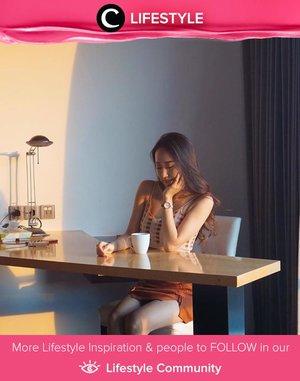 Morning tea tme spot at TS Suite Surabaya. Well, hello sunrise! Image shared by Clozetter @jessica_ie. Simak Lifestyle Updates ala clozetters lainnya hari ini di Lifestyle Community. Yuk, share juga momen favoritmu.