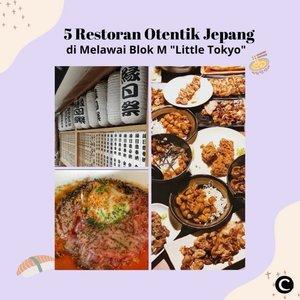 "Mampir ke kawasan Melawai, Blok M, yuk! Kamu akan menemukan ""Little Tokyo"" disana. Dijuluki dengan nama tersebut karena terdapat banyak restoran, tempat hiburan hingga supermarket yang mengadaptasi budaya jepang. Kali ini, Clozette Crew akan merekomendasikan 5 tempat makan otentik Jepang di kawasan ""Little Tokyo"", Melawai, Blok M, Jakarta yang patut kamu kunjungi terutama untuk pecinta kuliner Jepang, nih! Yuk, simak videonya✨📷 @yukimelawai @nok.uy @jktfoodbang @chibicancan @makanyuuq @fahmiewww @denadiputra @astisoehoed #ClozetteID #ClozetteIDVideo #ClozetteXCoolJapan #ClozetteIDCoolJapan"