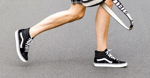 Here's why a pair of black trainers could be your most versatile buy ever